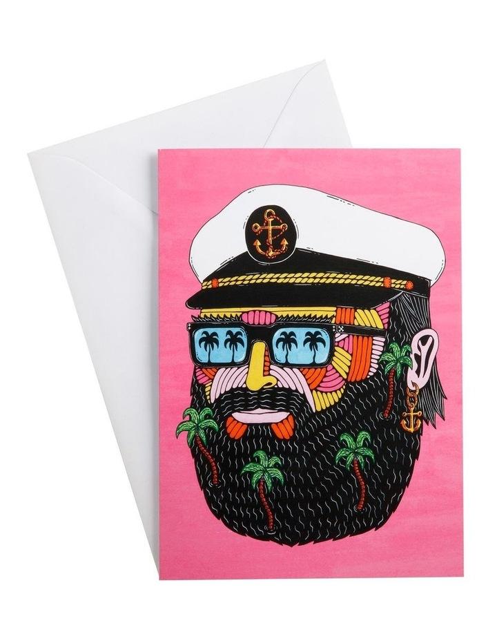 Mulga the Artist Greeting Card Captain image 1