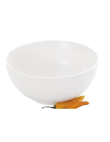 White Basics Soho Round Bowl 25x11cm image 1