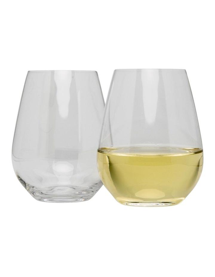 Vinoteca Stemless White Wine  Set of 6  400ml image 1