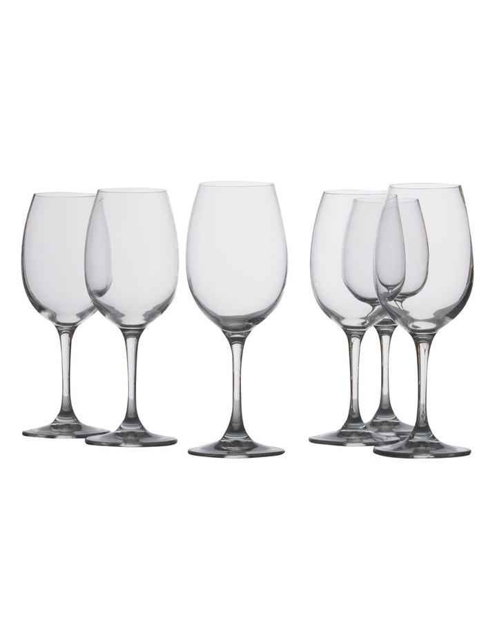 Mansion White Wine Glass  Set of 6 Gift Boxed  240ml image 1