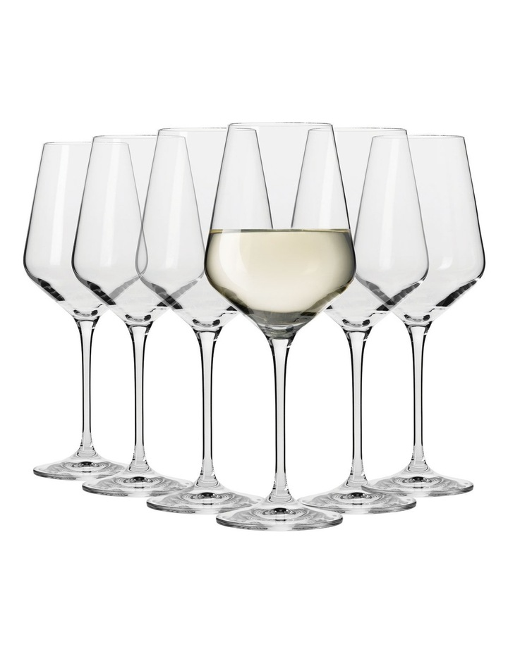 Flair Riesling Wine Glasses  Set 6 Gift Boxed  390ml image 1