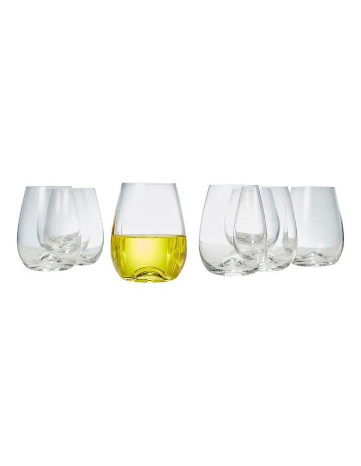 Polo Stemless Wine Glasses  Set of 8 image 2