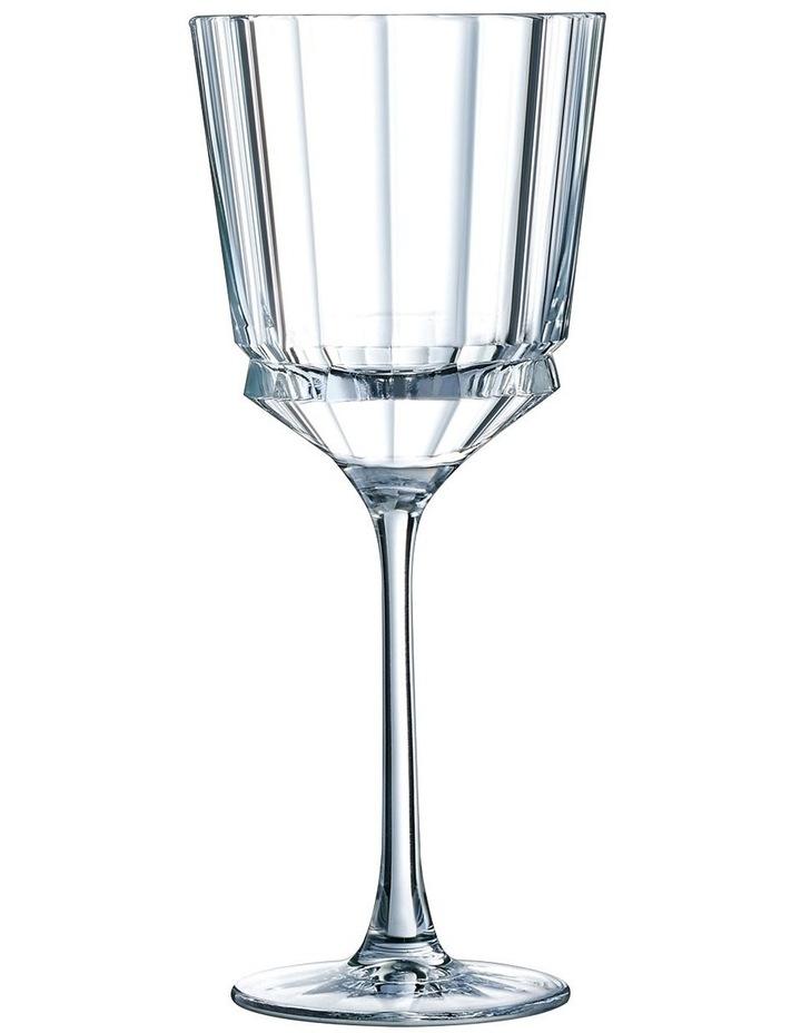 Macassar Wine Glass 250ML Set of 6 image 1