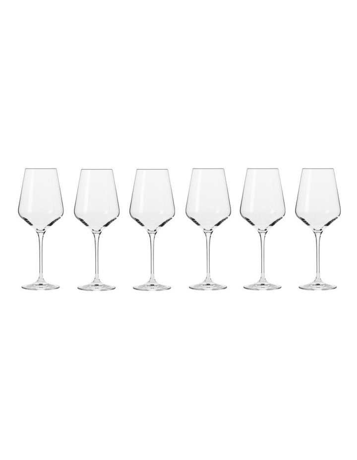 Avant Garde 390ml Wine Glass 6pc Gift Box Set image 1