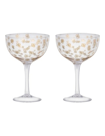 Baileys Coupe Glass Set 2