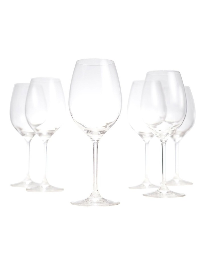 Cuvee White Wine Glasses - Set Of 6 image 1