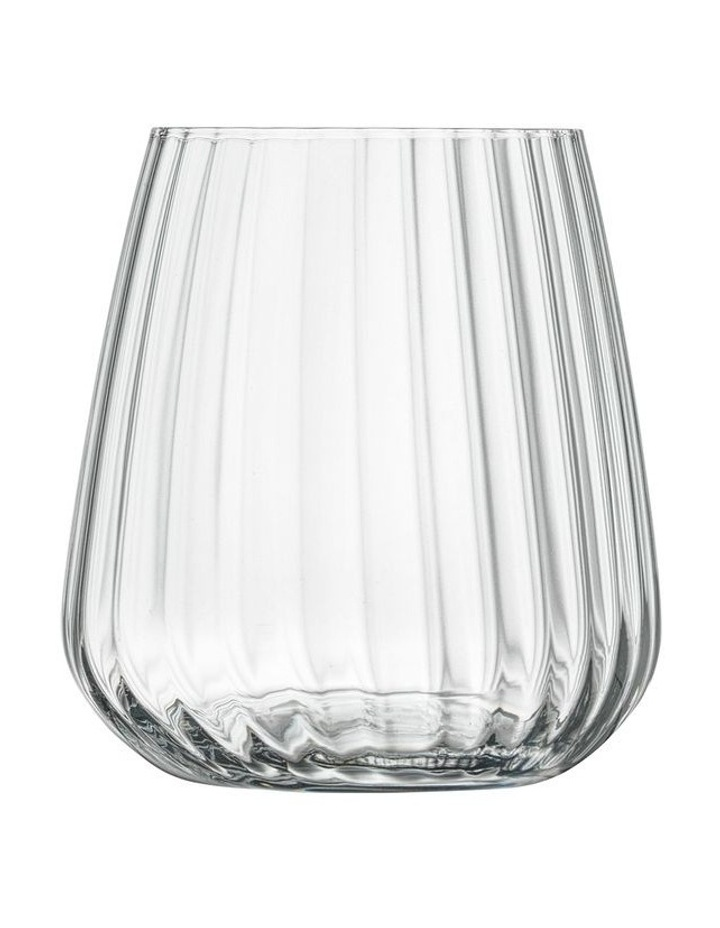 Optica Small Stemless 450ml 4 Pack image 1