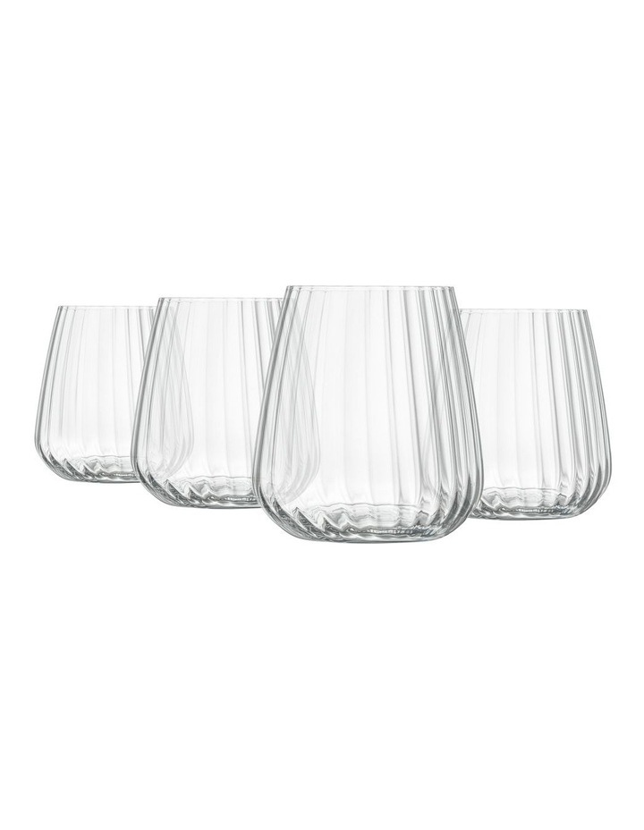 Optica Small Stemless 450ml 4 Pack image 3