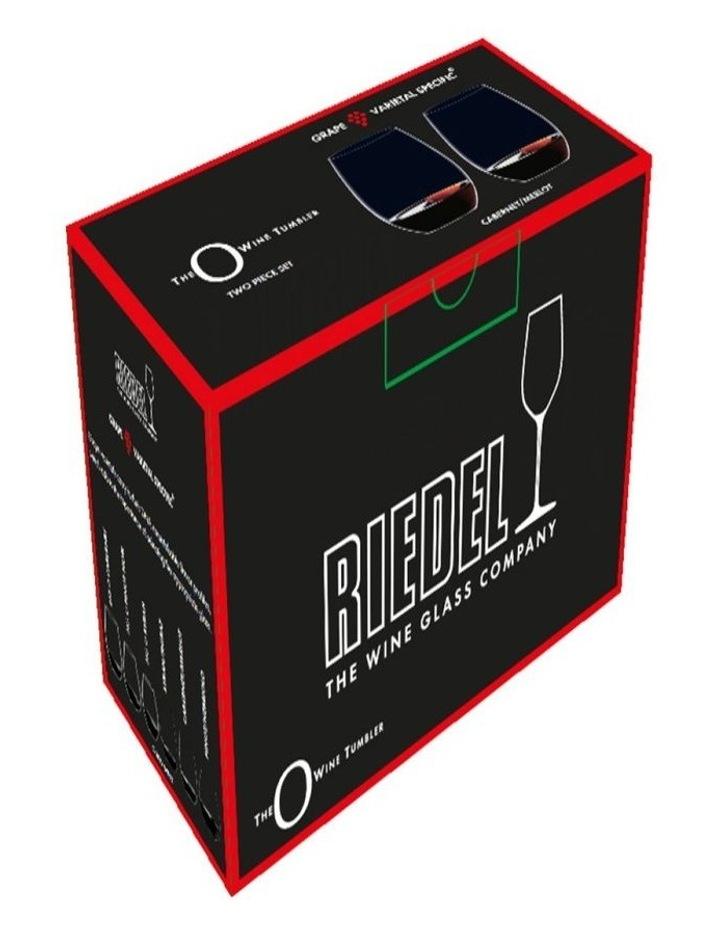 O Wine Tumbler Cabernet/Merlot Set Of 2 image 2