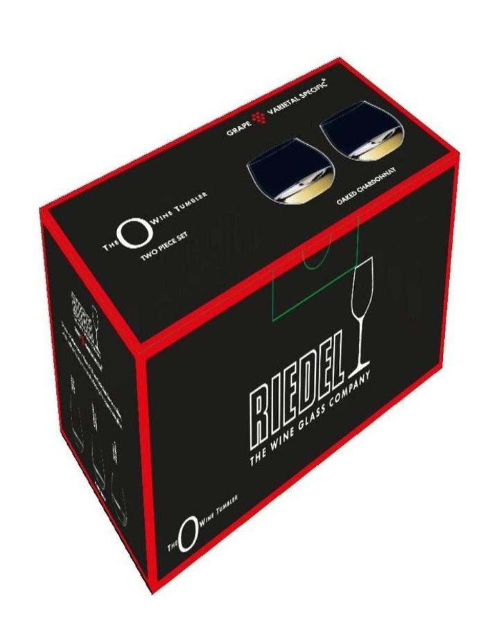 O Wine Tumbler Oaked Chardonnay Set Of 2 image 2