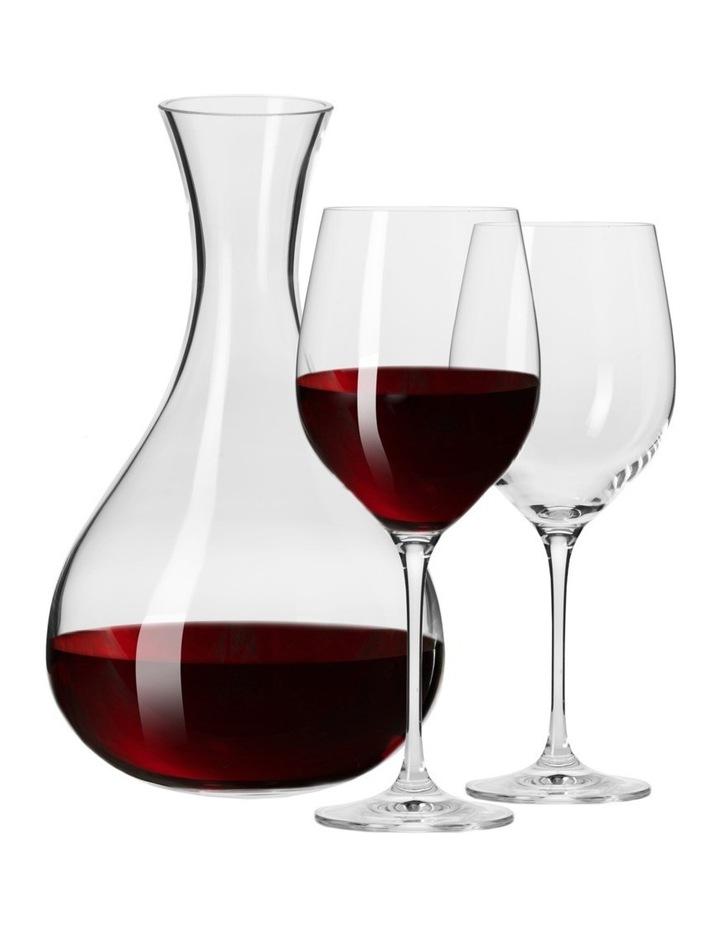 Vinoteca Decanter & 2 450ML Wine Glass Set Gift Boxed image 1