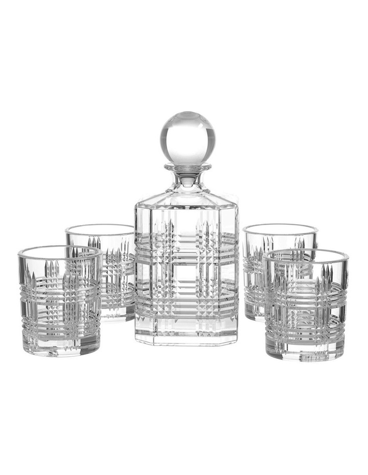 Bond Whisky Decanter Set - 5 Piece Set image 1