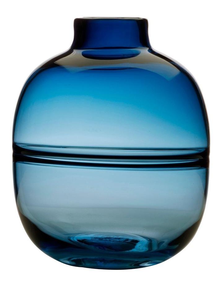 Flourish Orbit Vase 25cm Blue image 1