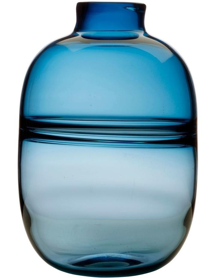 Flourish Orbit Vase 31cm Blue image 1