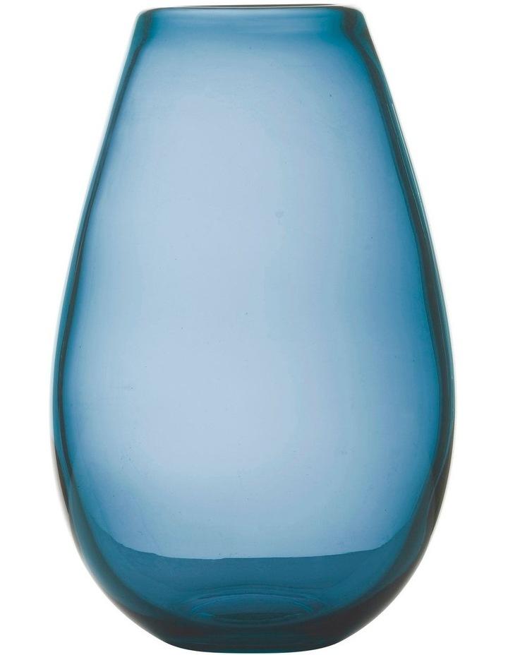 Flourish Taper Vase 21cm Blue image 1