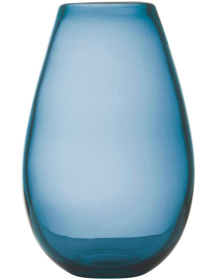 Flourish Taper Vase 26cm Blue image 1