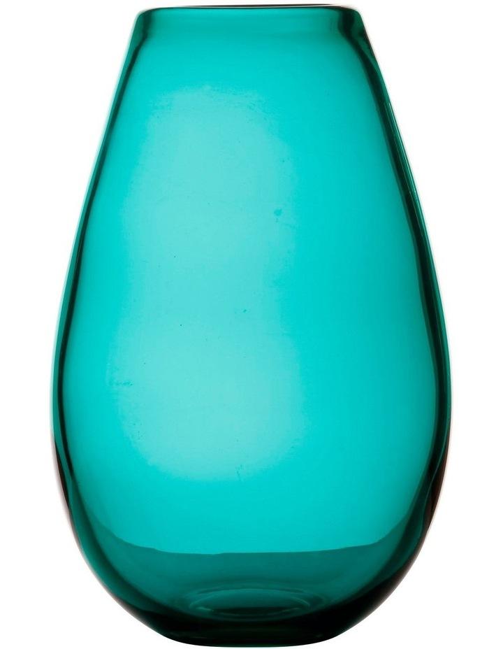 Flourish Taper Vase 21cm Green image 1