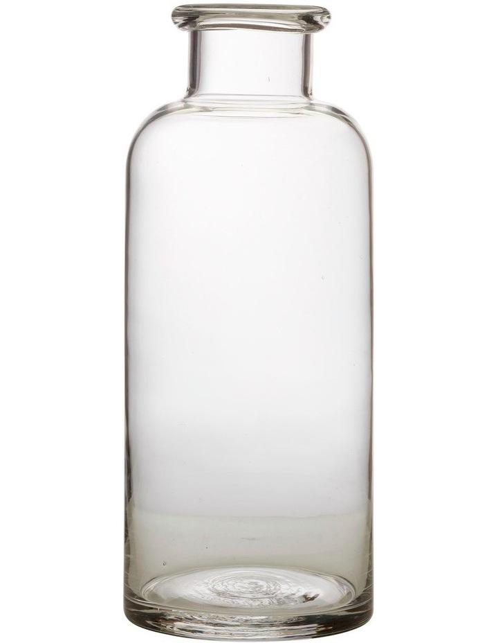 Flourish Bottle Vase 30cm Clear image 1