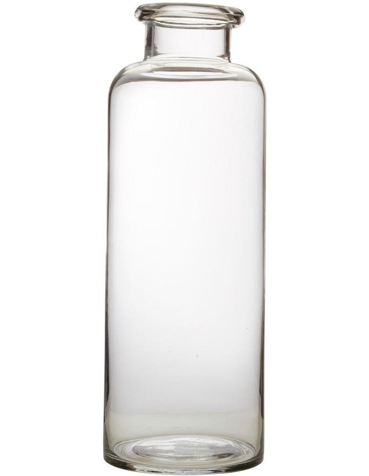 Flourish Bottle Vase 41cm Clear image 1