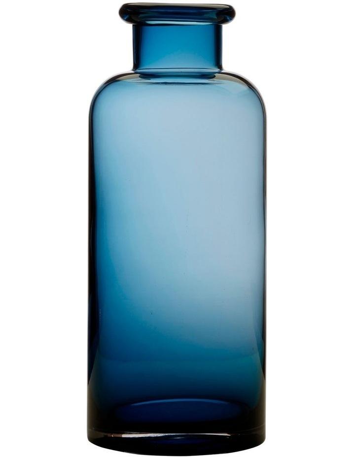 Flourish Bottle Vase 30cm Blue image 1