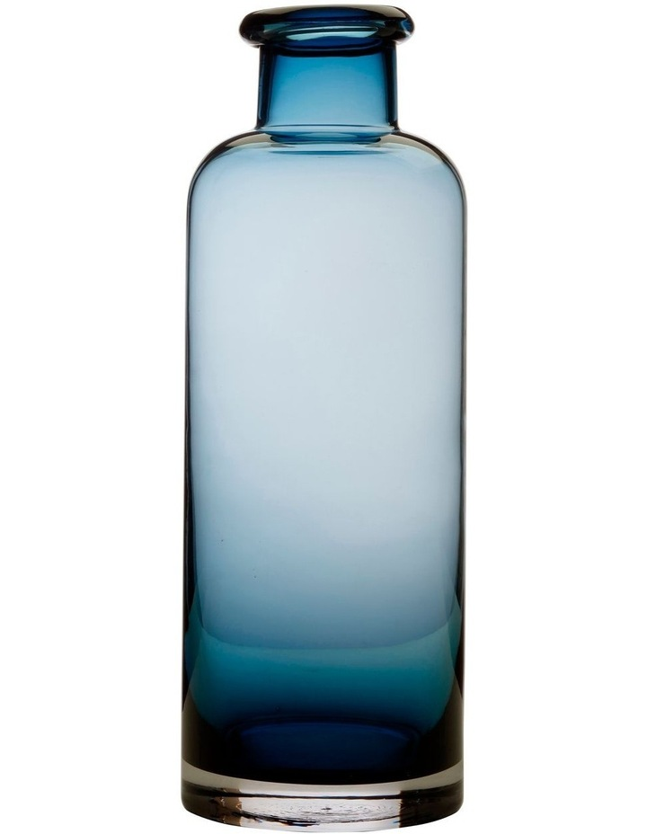 Flourish Bottle Vase 34cm Blue image 1