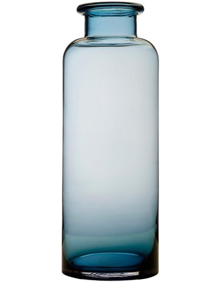 Flourish Bottle Vase 41cm Blue image 1