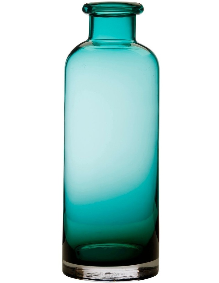 Flourish Bottle Vase 34cm Green image 1