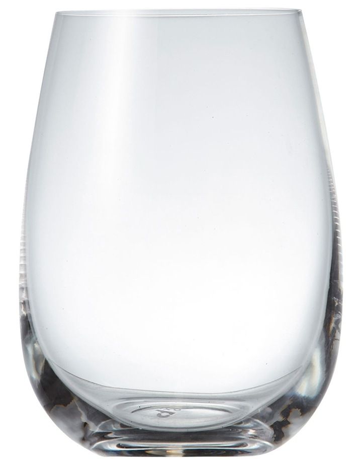 Cuvee Stemless Wine Glasses  Set of 6 image 1