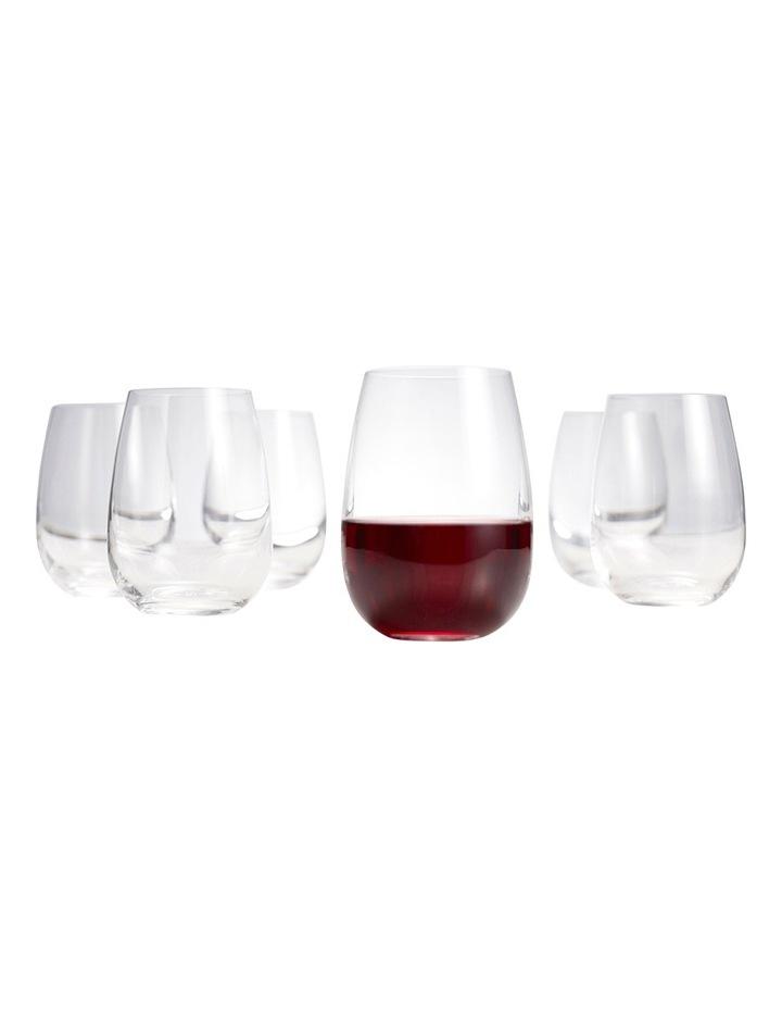 Cuvee Stemless Wine Glasses  Set of 6 image 2