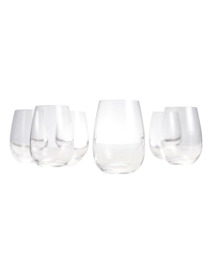 Cuvee Stemless Wine Glasses  Set of 6 image 4