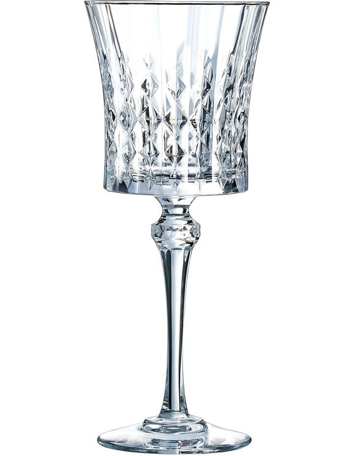 Cristal Darques Lady Diamond.Cristal D Arques Paris Lady Diamond Wine Glass 270ml Set Of 6