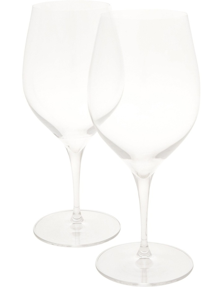 Terroir Crystal Hand Made Red Wine Glasses Set of 2 image 1