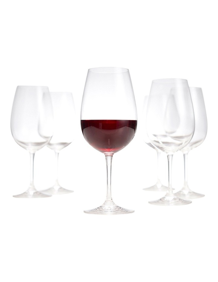 Salut Red Wine Glasses, Set of 6 image 2