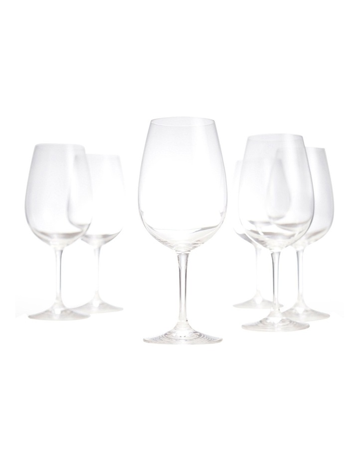 Salut Red Wine Glasses, Set of 6 image 4