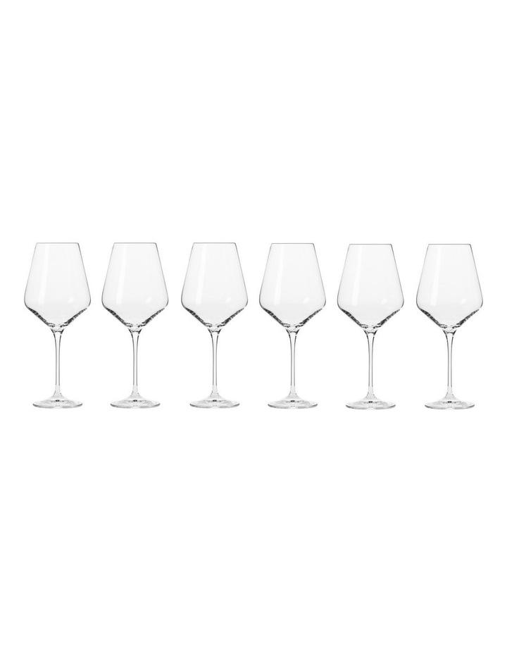 Avant Garde Wine Glass 490ML 6pc Gift Boxed image 1