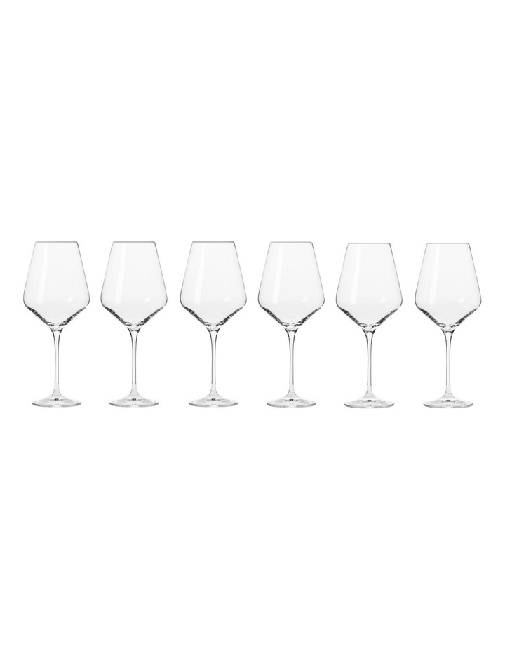 Avant Garde Wine Glass 490ML 6pc Gift Boxed image 1