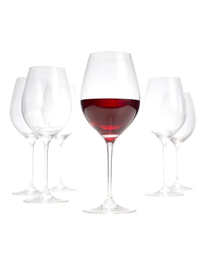 Cuvee Red Wine Glasses - Set Of 6 image 5