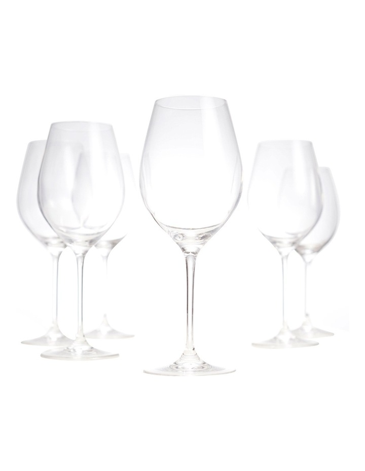 Cuvee Red Wine Glass Set of 6 image 4