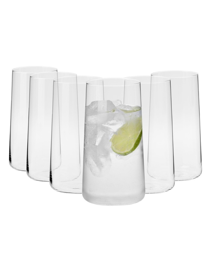 Vinoteca Tapered Tall Tumbler (540ML) Set Of 6 - Gift Boxed image 1