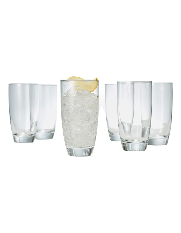 'Salut' Highball Tumbler Set of 6 image 2