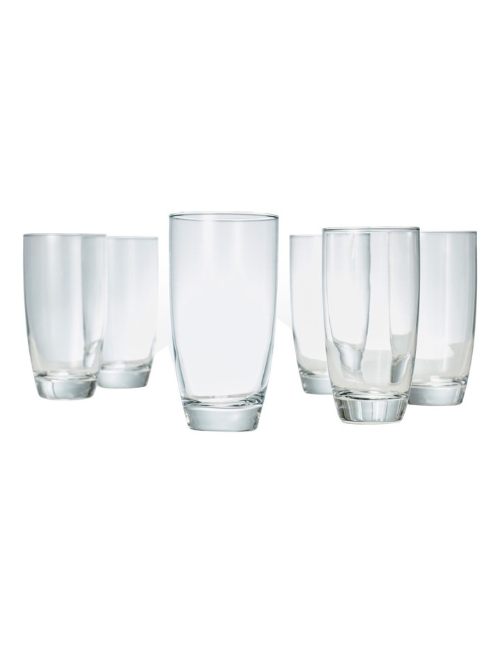 'Salut' Highball Tumbler Set of 6 image 4