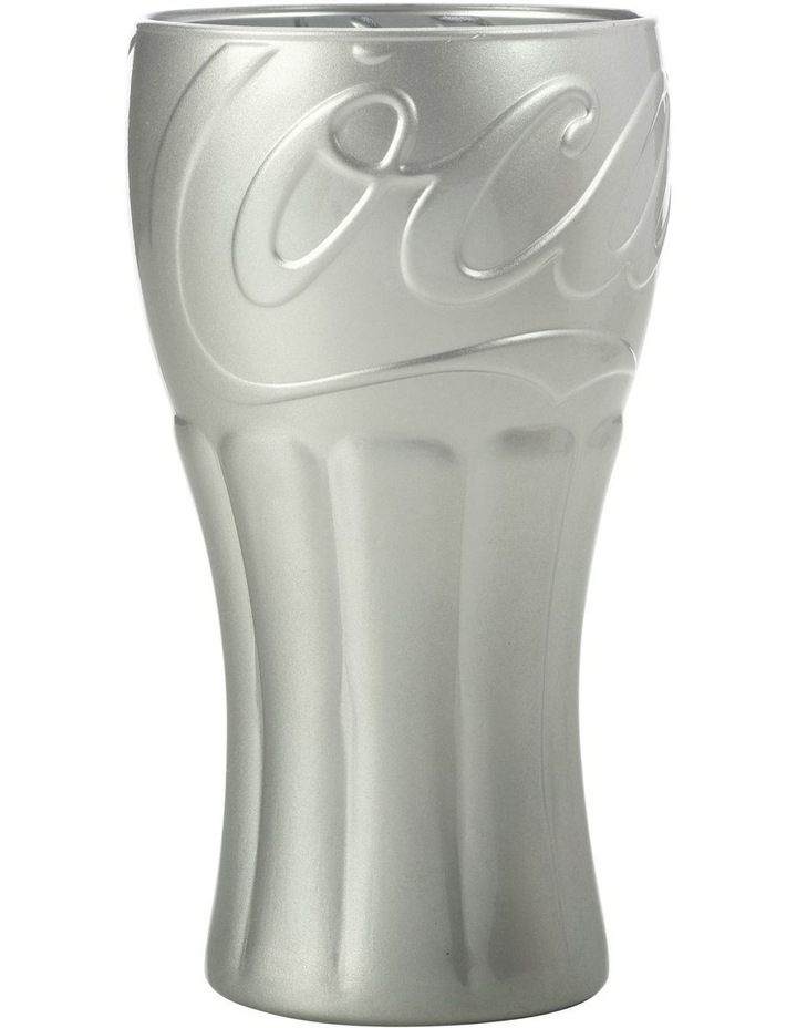 Superscript Coca Cola Glass 350ML Silver Gift Boxed image 1