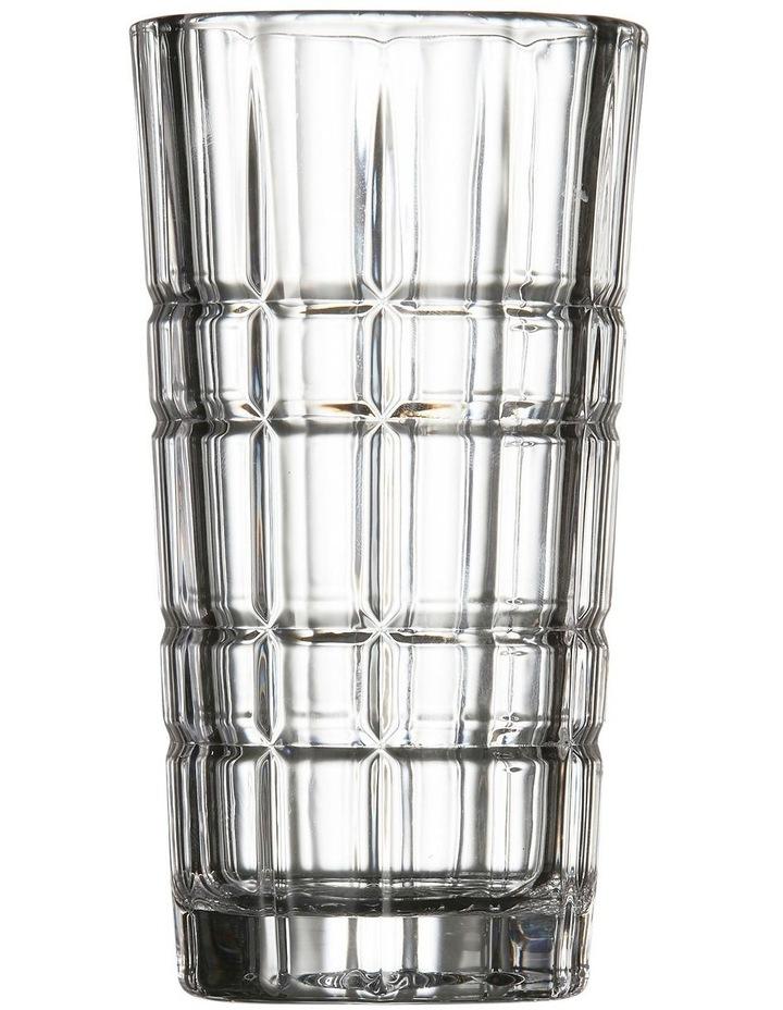 BOND Highball Glass - 370ml - Set of 4 - Lined image 1