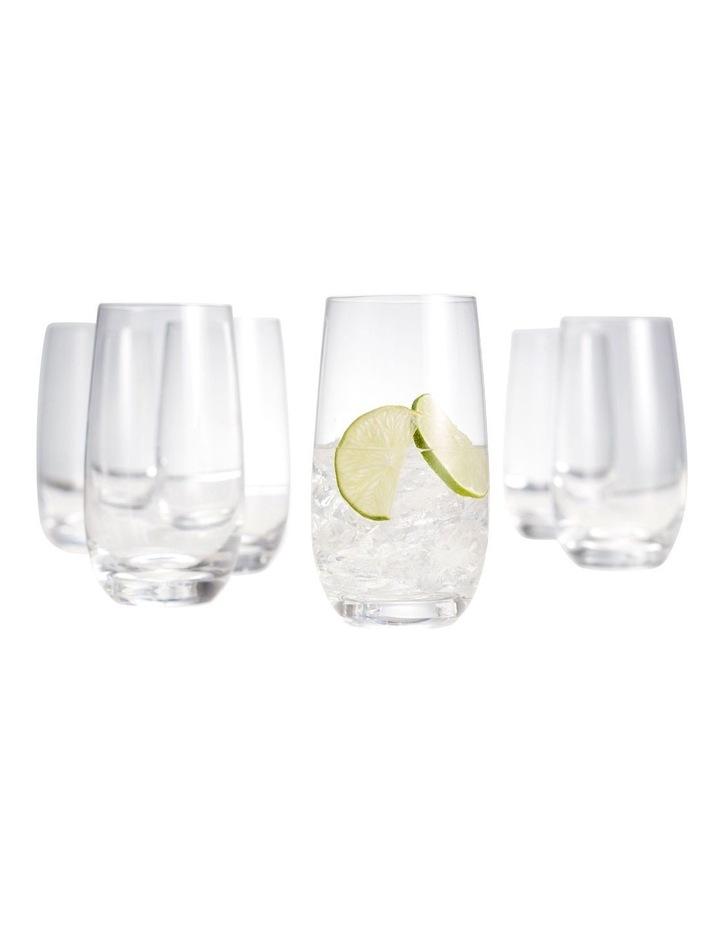 Cuvee Highball Glasses - Set Of 6 image 3