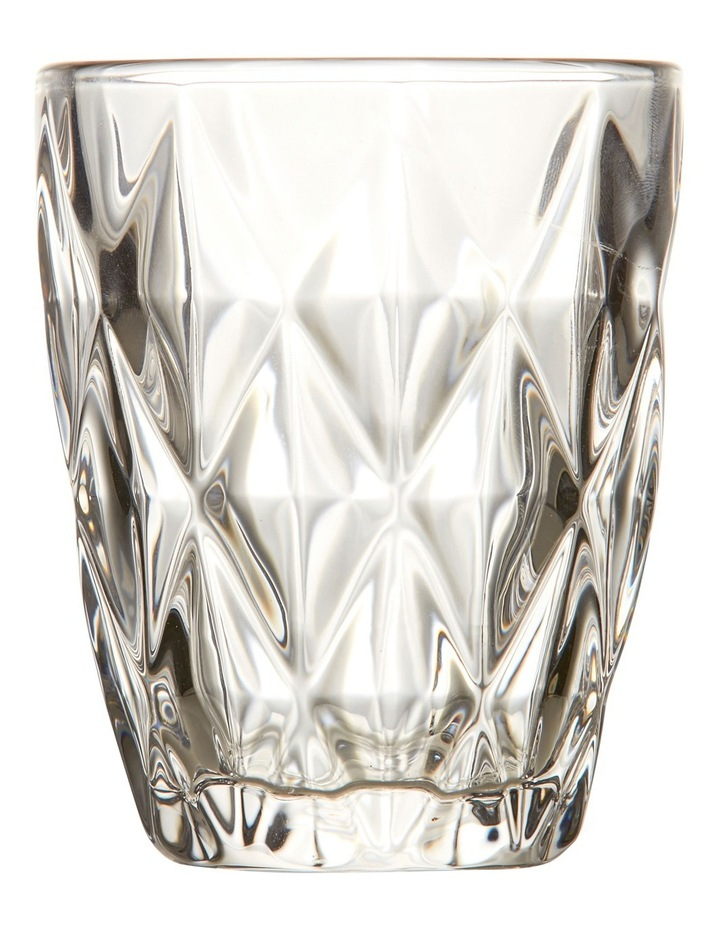 Camden Embossed Tumbler Set of 4 260ml - Clear image 1
