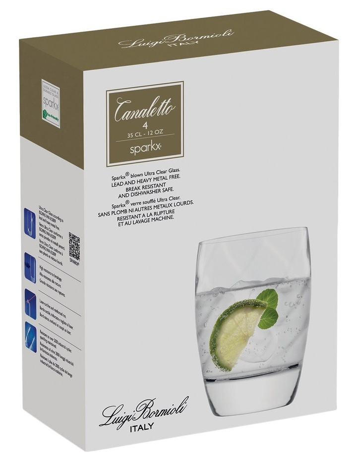 Canaletto Short Tumbler  Set of 4 image 5