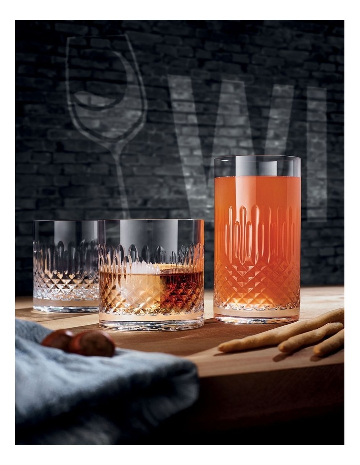 Diamante Double Old Fashioned 380ml Set of 4 image 2