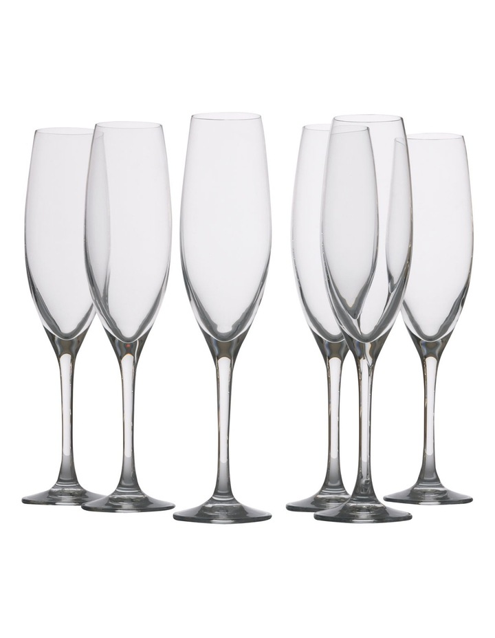 Mansion Champagne Flute  Set of 6 Gift Boxed  180ml image 1