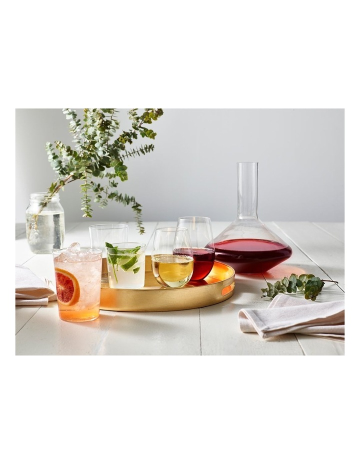 Mansion Stemless Flute (230ML) Set Of 6 - Gift Boxed image 2