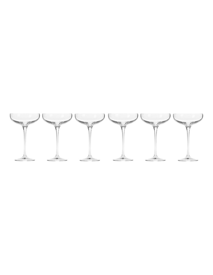 Harmony Champagne Coupe 240ML 6pc Gift Boxed image 1